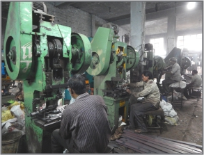 Sond India Fasteners Press Section